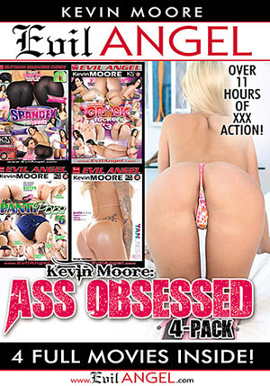 Kevin Moore: Ass Obsessed 4 Pack ^stb;4 Disc Set^sta;