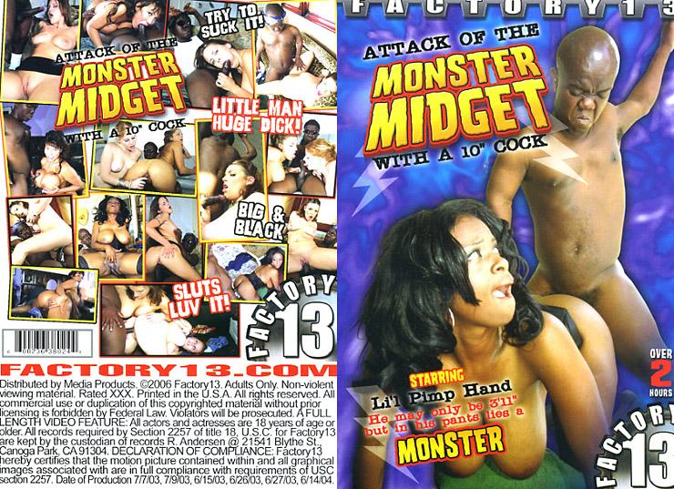 Monster midget 10 inch