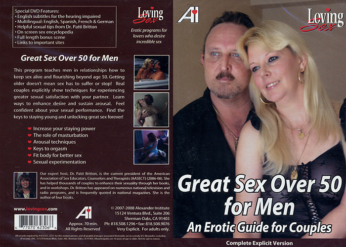 men over 50 and sex