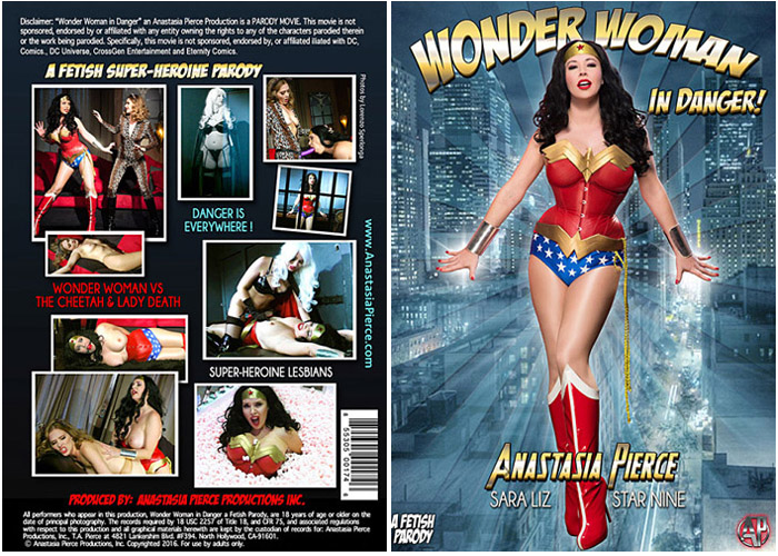 Can look adult theme superheroine dvd and video situation