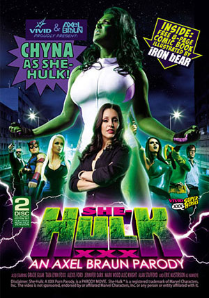 She-Hulk XXX (2 Disc Set)