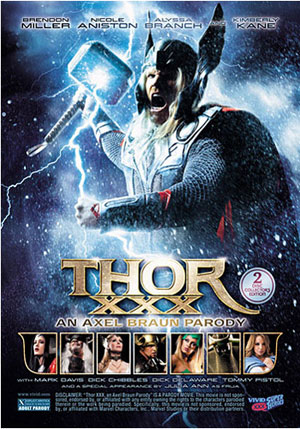 Thor XXX: An Axel Braun Parody (2 Disc Set)