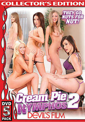 Cream Pie Nymphos 2 (5 Disc Set)