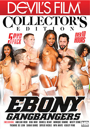 Ebony Gangbangers Collector's Edition (5 Disc Set)