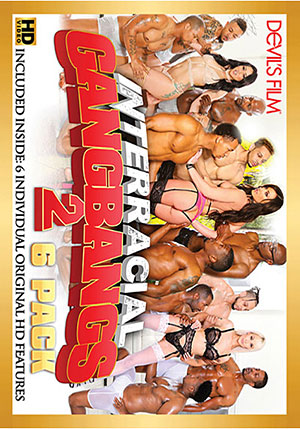 Interracial Gangbangs 6 Pack 2 (6 Disc Set)