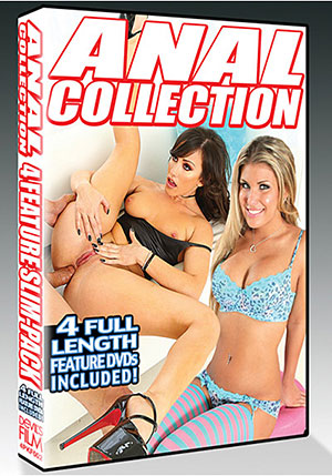 Anal Collection (4 Disc Set)