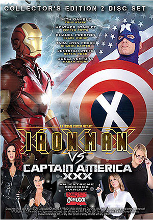 Iron Man Vs Captain America XXX (2 Disc Set)