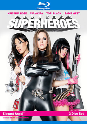 Pornstar Superheroes (2 Disc Set) (Blu-Ray)