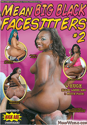 Mean Big Black Facesitters 2