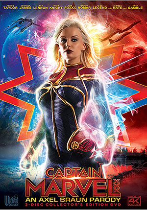 Captain Marvel XXX: An Axel Braun Parody (2 Disc Set)