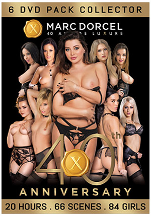 Marc Dorcel 40th Anniversary (6 Disc Set)