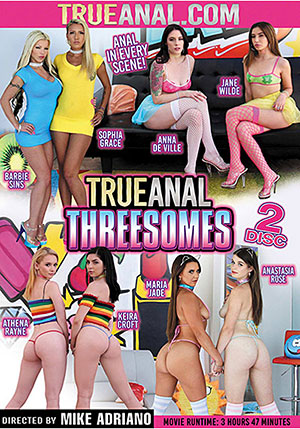 True Anal Threesomes (2 Disc Set)
