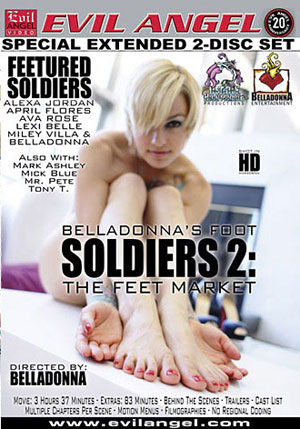 Belladonna's Foot Soldiers 2: The Feet Market (2 Disc Set)