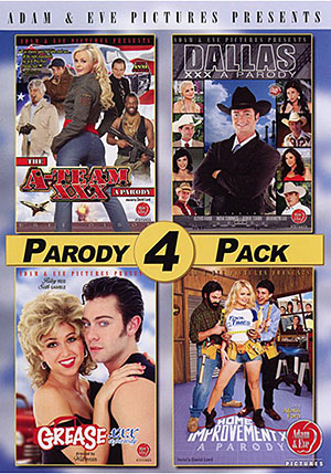 Parody 4 Pack (4 Disc Set)