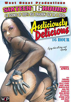 Assliciously Delicious (4 Disc Set)