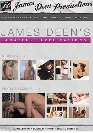 James Deen's Amateur Applications 1 (2 Disc Set)