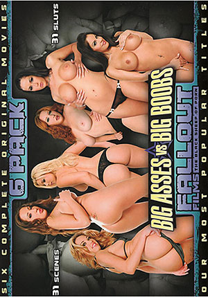 Fallout Films 6 Pack Big Ass Vs Big Boobs (6 Disc Set)