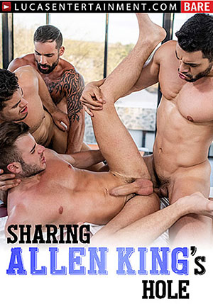 Sharing Allen King's Hole
