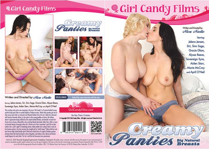 Creamy Panties: Big Natural Breasts Adult Movie
